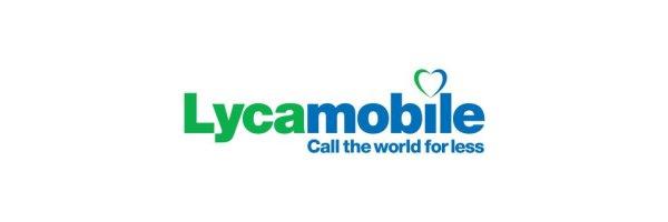 LycaMobile Prepaid Simkarte